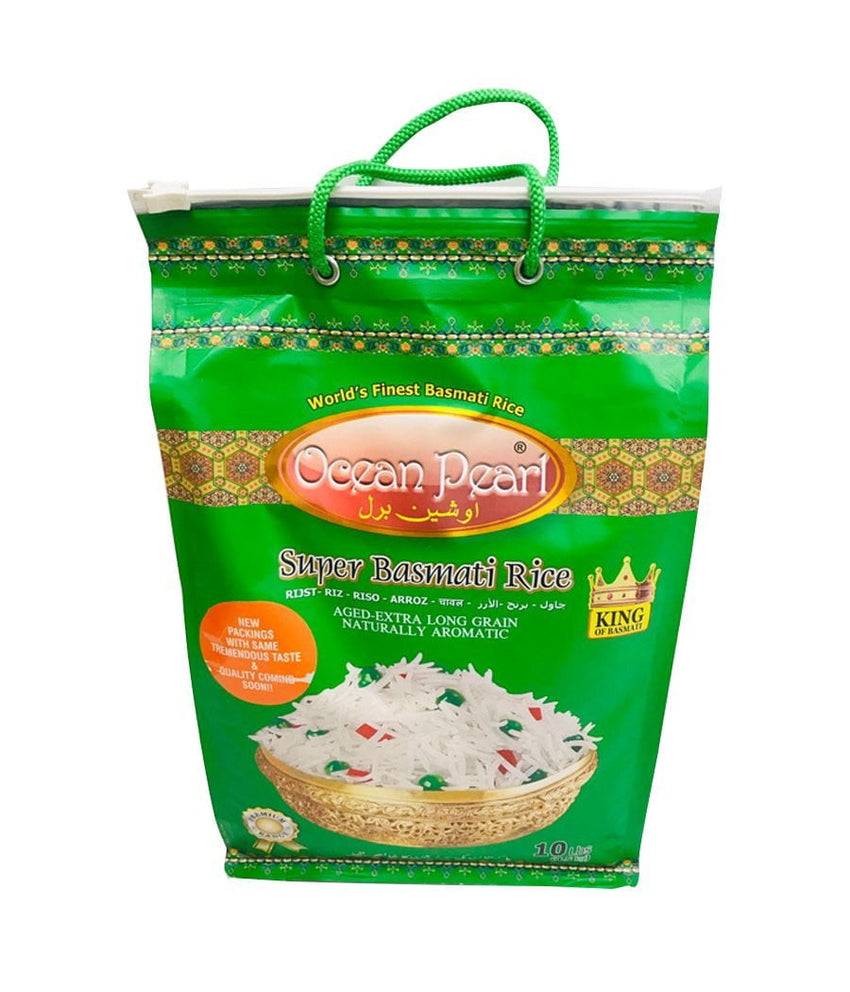 OCEAN PEARL – Super Basmati Rice – 10Lbs - Daily Fresh Grocery