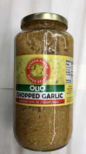 Olio Chopped Garlic - 946ml - Daily Fresh Grocery