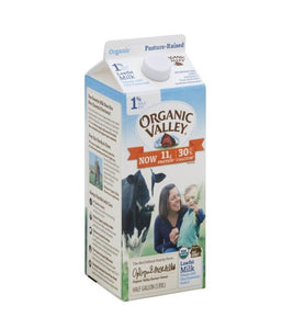Organic Valley 1% Low Fat Milk (Organic) - 1.89 Ltr - Daily Fresh Grocery