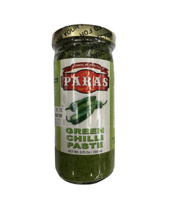 Paras Green Chilli Paste - 9 FI oz - Daily Fresh Grocery