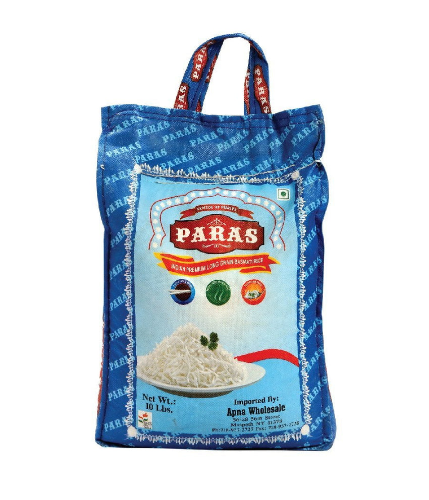 Paras Indian Premium Long Grain Rice / 10 lbs - Daily Fresh Grocery