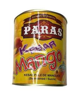 Paras Kesar Mango Pulp - 750 ml - Daily Fresh Grocery