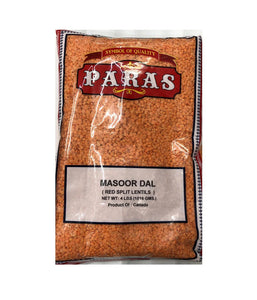 Paras Masoor Dal - 4 LBS - Daily Fresh Grocery