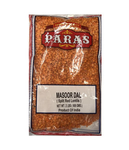 Paras Masoor Dal (Split Red Lentils) - 2 Lbs - Daily Fresh Grocery