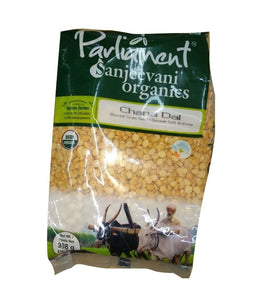 Parliament Sanjeevani Organics Chana Dal - 908 Gm - Daily Fresh Grocery