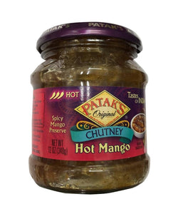 Patak's Chutney Hot Mango - 340 Gm - Daily Fresh Grocery