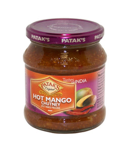 Patak's Hot Mango Chutney 12 oz / 340 gram - Daily Fresh Grocery
