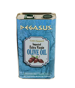 Pegasus Imported Extra Virgin Olive Oil - 3 Ltr - Daily Fresh Grocery