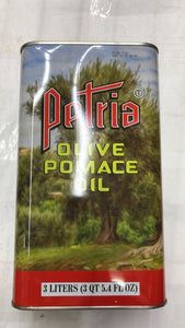 Petria Olive Pomace Oil - 3 Ltr - Daily Fresh Grocery