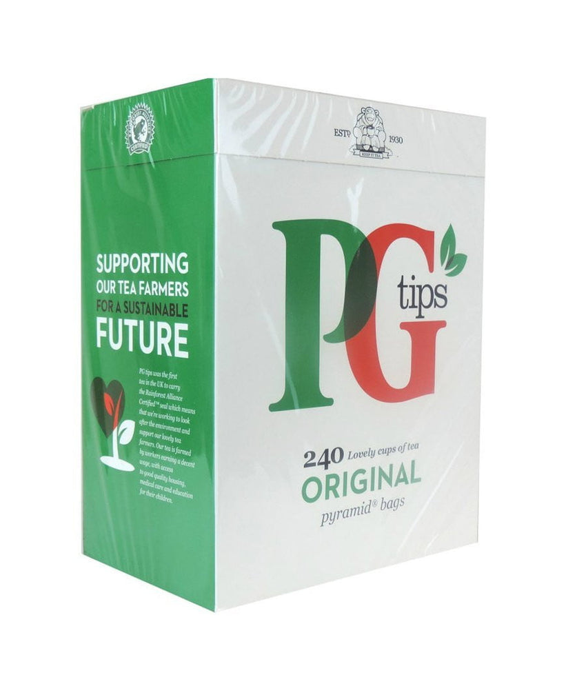 PG Tips - 240 Pyramid Bags - Daily Fresh Grocery