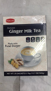 Pocas Instant Ginger Milk Tea - 360gm - Daily Fresh Grocery