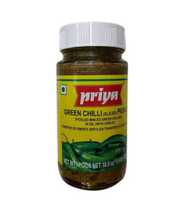 Priya Green Chili Pickle - 300 Gm - Daily Fresh Grocery
