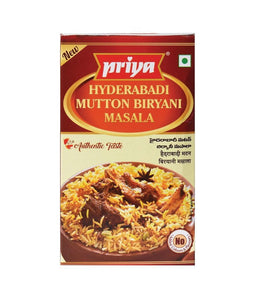 Priya Hyderabadi Mutton Biryani Masala 50 gm - Daily Fresh Grocery