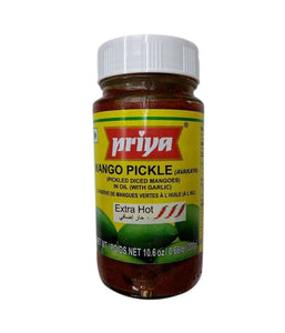 Priya Mango Pickle (Extra Hot) - 300 Gm - Daily Fresh Grocery