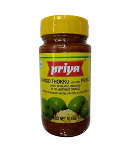 Priya  Mango Thokku Pickle - 300 Gm - Daily Fresh Grocery
