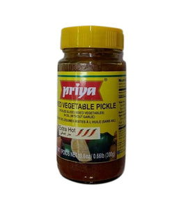 Priya Mixed Vegetable Pickle - 300 Gm - Daily Fresh Grocery