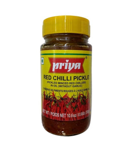Priya Red Chili Pickle - 300 Gm - Daily Fresh Grocery