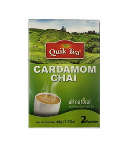 Quik Tea Cardamom Chai - 1.7 oz - Daily Fresh Grocery