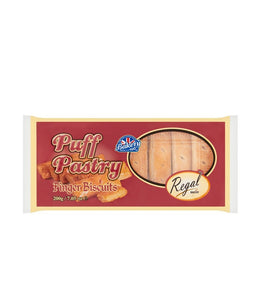 Regal Bakery Puff Pastry Finger Biscuits - 200 Gm - Daily Fresh Grocery