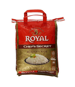 Royal Chef's Secret Extra Long Grain Basmati Rice 10 lb - Daily Fresh Grocery
