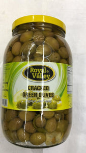 Royal Valley Cracked Green Olives - 2000gm - Daily Fresh Grocery