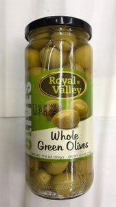Royal Valley Whole Green Olives - 500gm - Daily Fresh Grocery