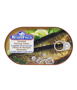 Rugen Fisch Smoked Herring Fillets 6.7oz - Daily Fresh Grocery