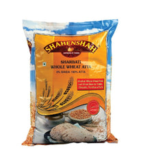Shahenshah Sharbati Whole Wheat Atta - 10 lbs - Daily Fresh Grocery