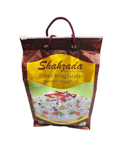 SHAHZADA Extra Long Grain Basmati Sela Rice – 10Lb - Daily Fresh Grocery