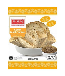 Shalini Cumin Lentil Crackers - 200 Gm - Daily Fresh Grocery