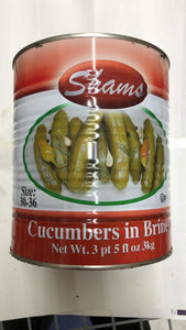 Shams Cucumbers In Brine - 3kg - Daily Fresh Grocery