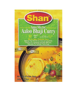 Shan Aloo Bhaji Masala 50 gm - Daily Fresh Grocery