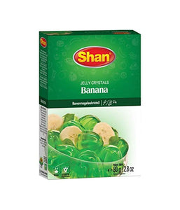 Shan Banana Jelly Crystals 80 gm - Daily Fresh Grocery