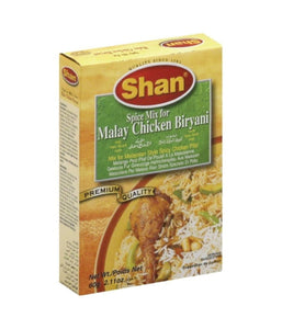 Shan Malay Chicken Biryani Masala 40 gm - Daily Fresh Grocery