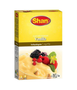 Shan Vanilla Custard Powder 200 gm - Daily Fresh Grocery