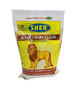 SHER-Kala Chana Flour-4Lb - Daily Fresh Grocery