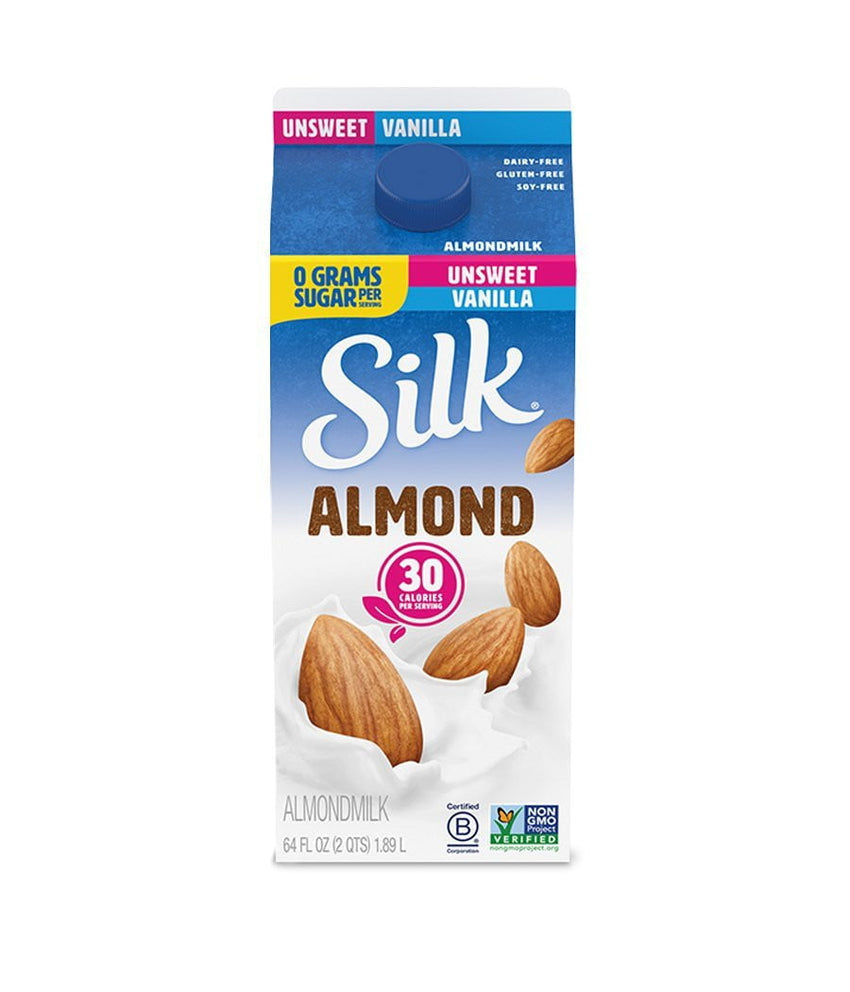 Silk Almond Unsweet Vanilla - 1.89 Ltr - Daily Fresh Grocery