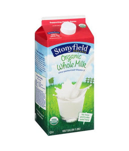 Stonyfield Organic- Organic Whole Milk Half Gallon / 1.9 litre - Daily Fresh Grocery
