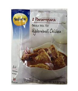 Sujata Parampara Sauce Mix Hyderabadi Chicken - 79gm - Daily Fresh Grocery