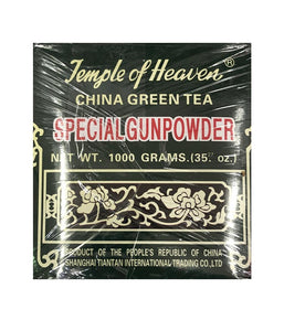 Temple Of Heaven China Green Tea Special Gunpowder - 35 oz - Daily Fresh Grocery