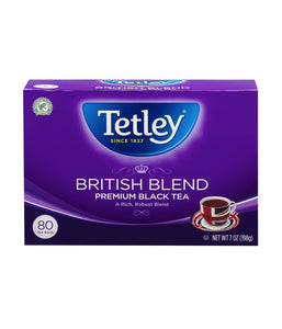 Tetley British Blend Premium Black Tea - 198 Gm - Daily Fresh Grocery