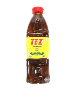 Tez Mustard Oil - 1 Liter - Daily Fresh Grocery