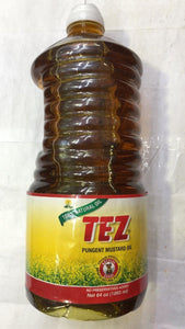 Tez Pungent Mustard Oil - 64 oz - Daily Fresh Grocery