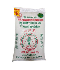 THAI JASMINE - White Scented Rice - 50Lbs - Daily Fresh Grocery