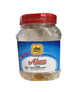 Three Rivers Alum Contains Aluminum Sulphate - 400 Gm - Daily Fresh Grocery
