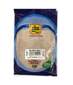 Three Rivers Black Salt - 200 Gm - Daily Fresh Grocery