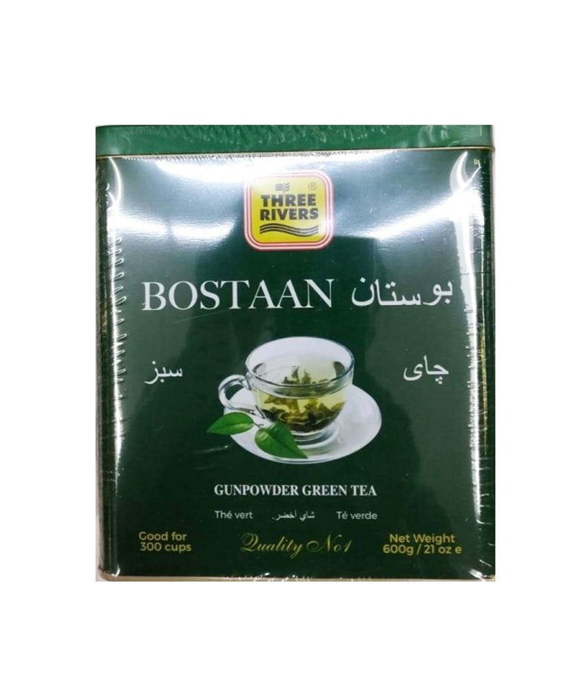 Three Rivers Bostaan Gunpower Green Tea - 600 Gm - Daily Fresh Grocery