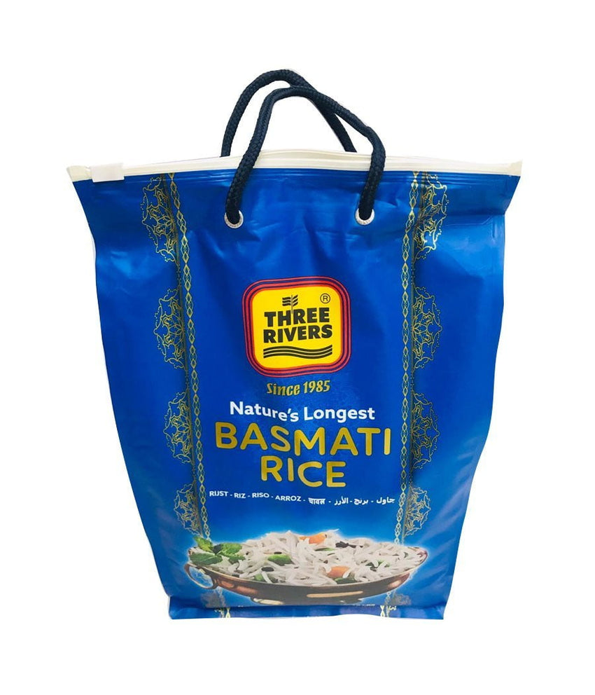 THREE RIVERS - Nature's Longest Basmati Rice -10Lbs - Daily Fresh Grocery