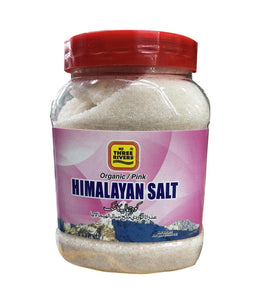 Three Rivers Organic / Pink Himalayan Salt - 600 Gm - Daily Fresh Grocery