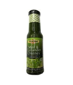 TOOBA Mint & Coriander Chutney - 270 gm - Daily Fresh Grocery